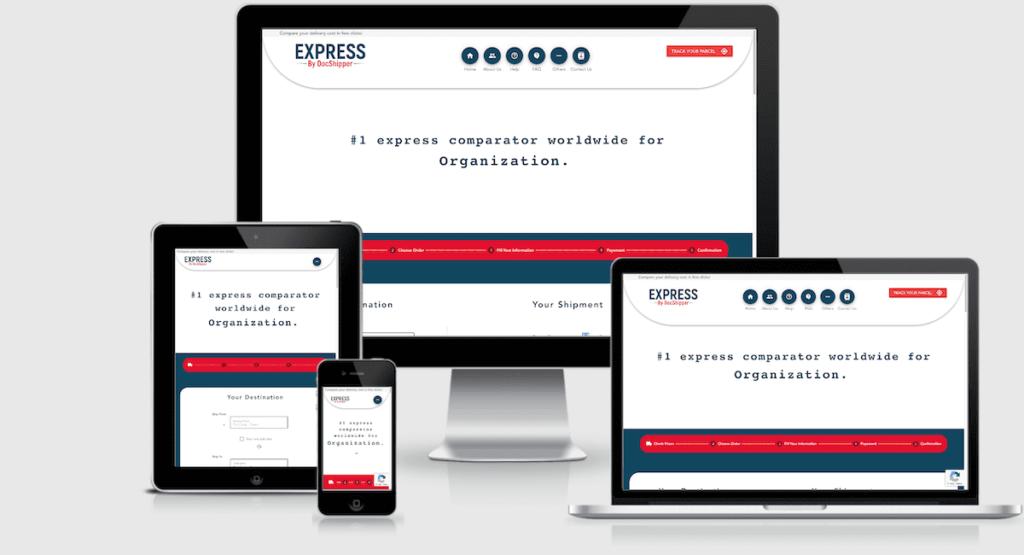 express comparator docshipper mobile desktop tablet